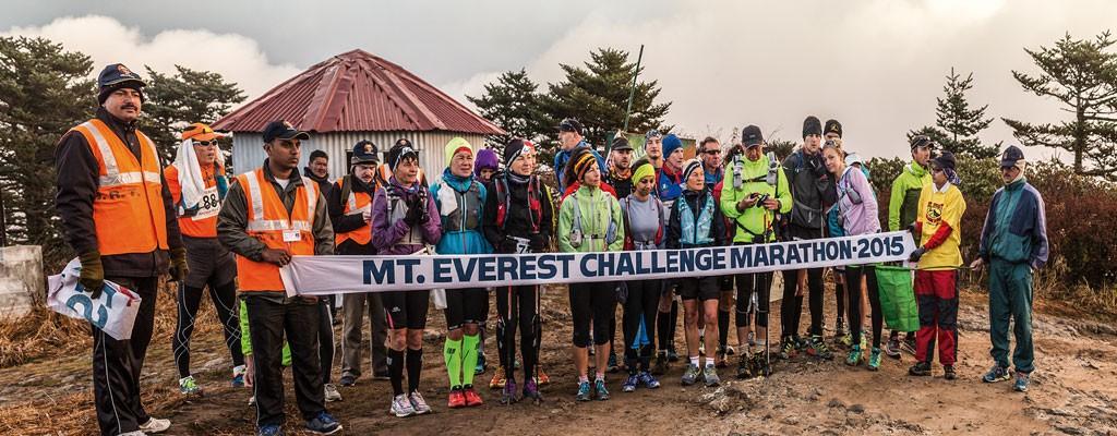 Durante el segundo día del Himalayan Run & Trek se corre simultáneamente el Everest Challenge Marathon; algunos corredores vienen solo a este evento y se van al día siguiente, pero es más recomendable participar en toda la carrera