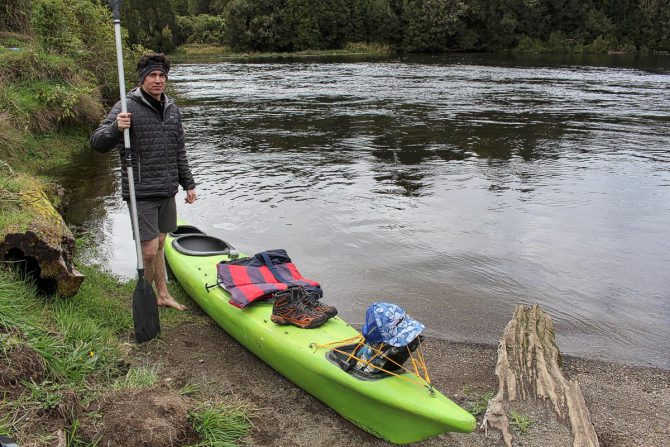 Kayak por el Maullín