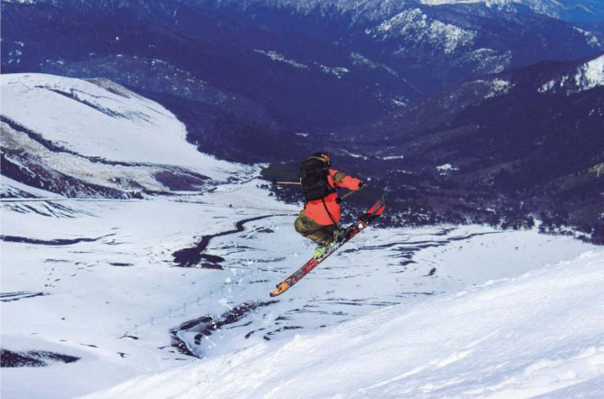 Ski Backcountry en la Araucanía