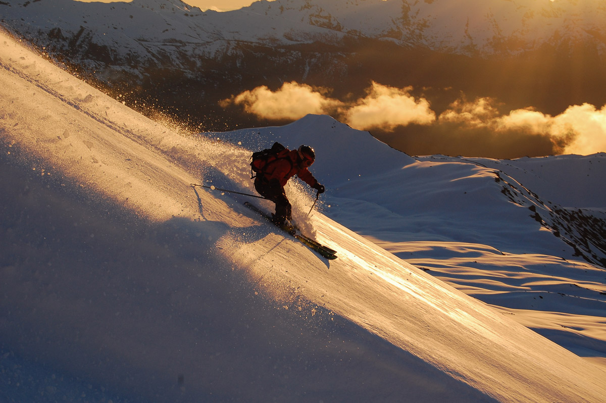 Esquiando por Volcanes en el Sur de Chile-7
