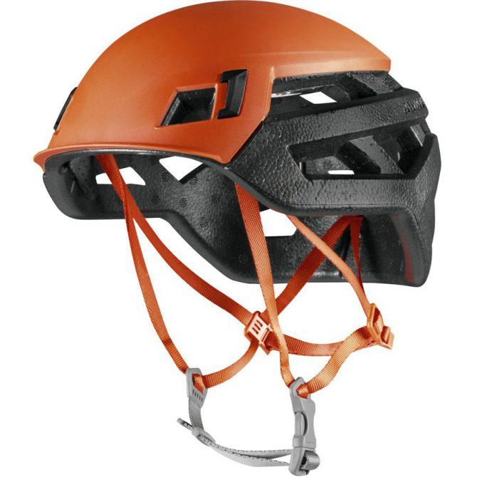Puntos fuertes  El Wall Rider es un casco ultraligero de solo 195 g. y es ideal  para escalada de varios largos. 1508d66b9c9
