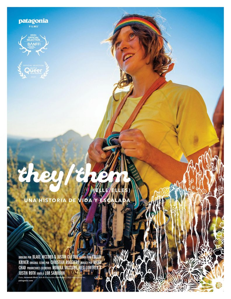 Afiche documental patagonia They/them