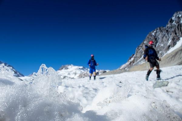 Bajada del glaciar